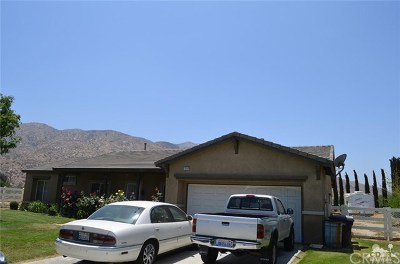 Banning Single Family Home For Sale: 1064 Driftwood Circle
