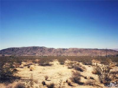 San Bernardino County Residential Lots & Land For Sale: Que Pass Lane