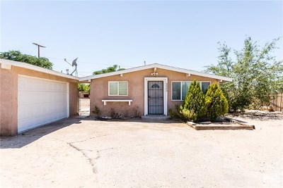 Lucerne Valley Single Family Home For Sale: 9982 Calle Del Paz