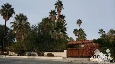 Palm Springs Single Family Home For Sale: 330 Stevens Road