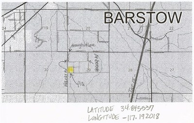Barstow Residential Lots & Land For Sale: 10 Ac