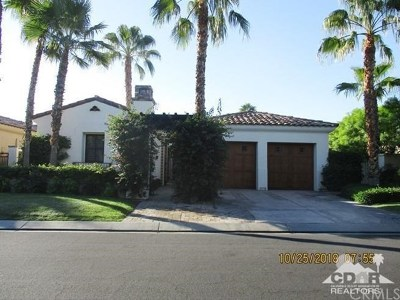 La Quinta Single Family Home For Sale: 80573 Via Savona