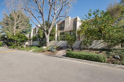 Woodland Hills Condo/Townhouse For Sale: 6145 Shoup Avenue #54