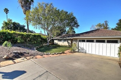 Santa Barbara Single Family Home For Sale: 484 Vaquero Lane