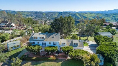 Santa Rosa Single Family Home For Sale: 12243 Presilla Road