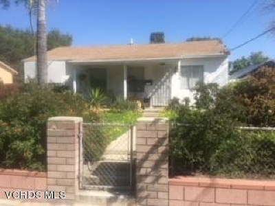 Pacoima Single Family Home Active Under Contract: 11036 Herrick Avenue