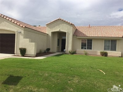 La Quinta Single Family Home For Sale: 45185 Desert View Court