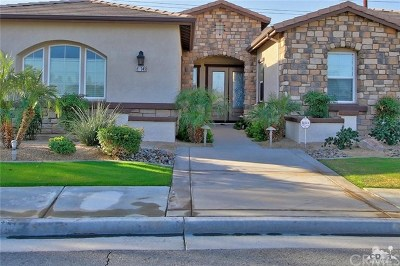La Quinta Single Family Home For Sale: 81949 Il Serenada Drive