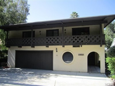Agoura Hills Single Family Home For Sale: 4911 Lewis Road