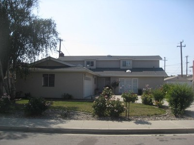 Lompoc Single Family Home For Sale: 301 2nd Street