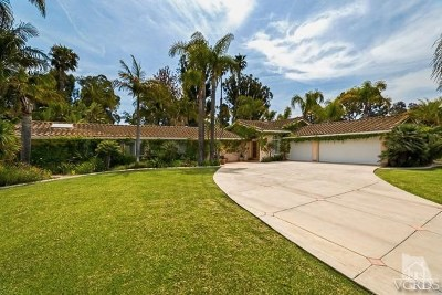 Ventura County Single Family Home For Sale: 1702 Ramona Drive