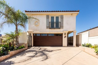 Ventura County Single Family Home For Sale: 101 Ocean Drive