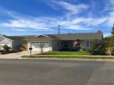 Ventura County Single Family Home For Sale: 357 Bucknell Avenue
