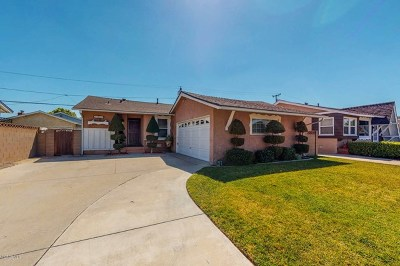 Lakewood Single Family Home For Sale: 21032 Verne Avenue