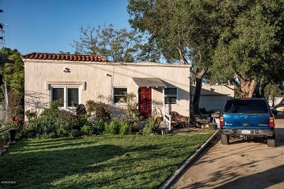 Ventura County Multi Family Home For Sale: 3872 Main Street