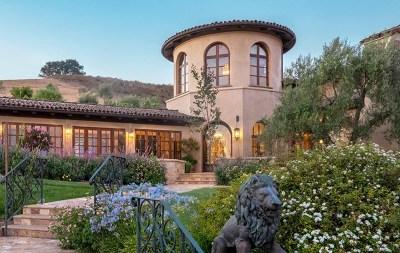 Santa Ynez Single Family Home For Sale: 3071 Via De Los Ranchos Road