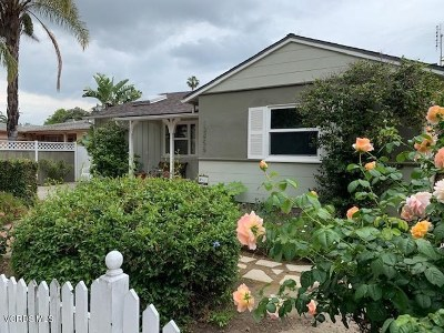 Valley Glen Single Family Home Active Under Contract: 13458 Friar Street