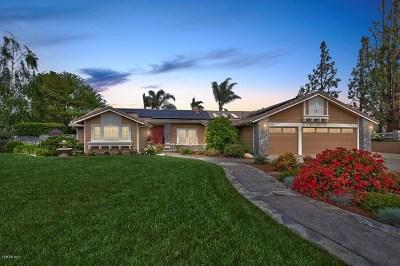 Santa Rosa Single Family Home Active Under Contract: 12285 Ridge Drive