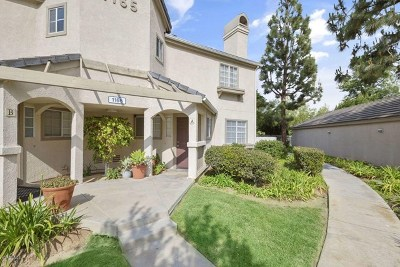 Simi Valley Condo/Townhouse For Sale: 1165 Fitzgerald Road #A