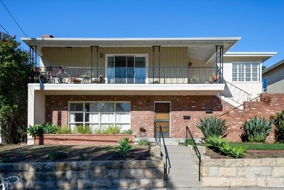 Santa Barbara Multi Family Home For Sale: 127 Valerio Street