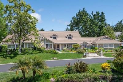 Westlake Village Single Family Home For Sale: 1695 Larkfield Avenue