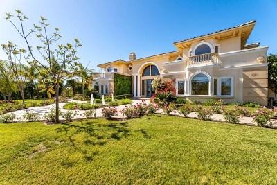 Single Family Home Active Under Contract: 969 Corte La Cienega