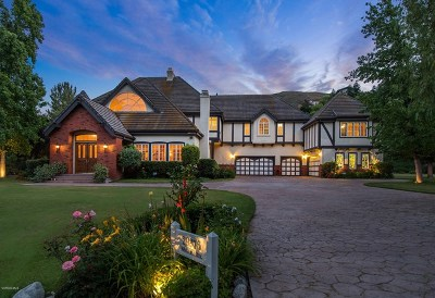 Agoura Hills Single Family Home For Sale: 29376 Wagon Road