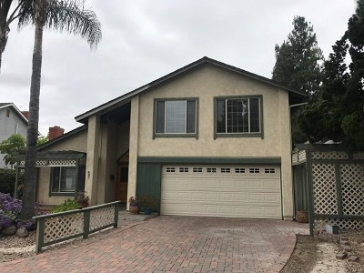 Ventura County Single Family Home For Sale: 497 Madreselva Court