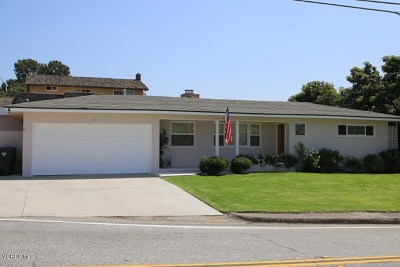 Ventura County Single Family Home For Sale: 280 Loop Drive