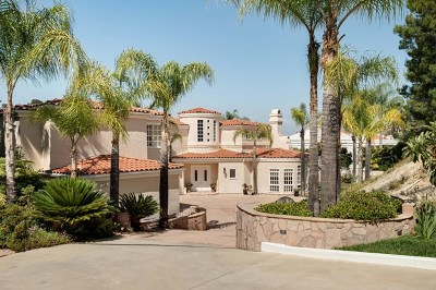 Brentwood, Calabasas, West Hills, Woodland Hills Single Family Home For Sale: 24927 Palmilla Drive