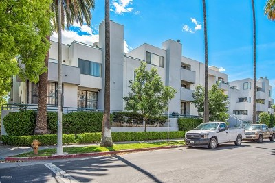 Van Nuys Condo/Townhouse For Sale: 14610 Erwin Street #108