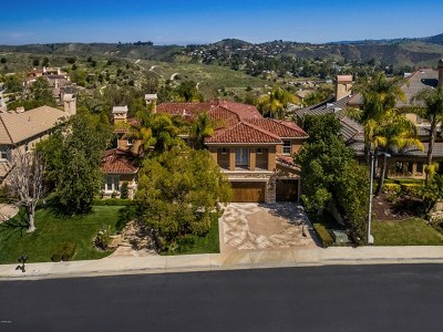 Brentwood, Calabasas, West Hills, Woodland Hills Single Family Home For Sale: 26832 Provence Drive