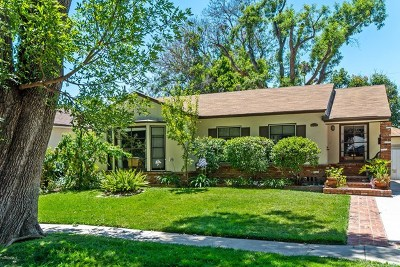 Van Nuys Single Family Home For Sale: 6531 Ruffner Avenue