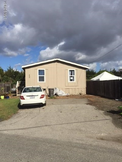 San Luis Obispo County Manufactured Home For Sale: 314 Cayucos Creek Road