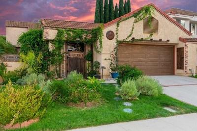 Moorpark Single Family Home For Sale: 15326 E Benwood Drive