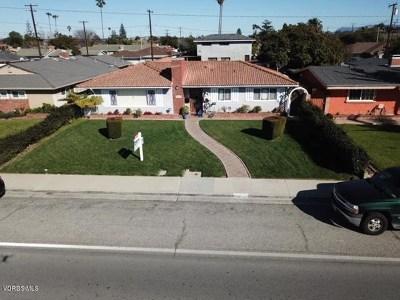 Oxnard CA Single Family Home For Sale: $495,000