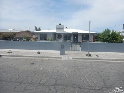 Indio Single Family Home For Sale: 43521 Smurr Street
