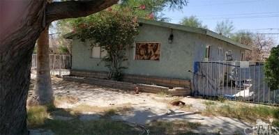 Indio Single Family Home For Sale: 43845 Apache Street