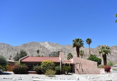 La Quinta CA Single Family Home For Sale: $270,000
