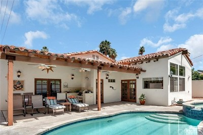 Palm Springs Single Family Home For Sale: 1833 Palm Canyon Drive