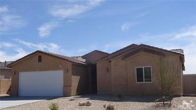 Desert Hot Springs Single Family Home For Sale: 11558 Bald Eagle Lane
