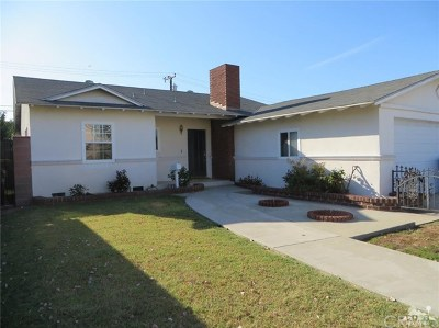 Downey Single Family Home For Sale: 10921 Cord Avenue