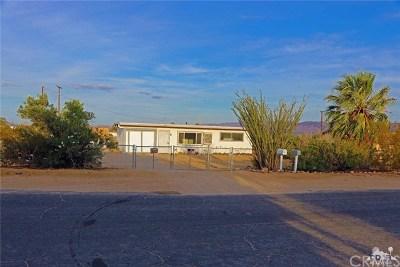 Joshua Tree Single Family Home For Sale: 4761 Avenida La Candela