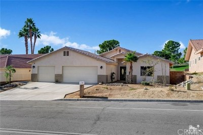 Desert Hot Springs Single Family Home For Sale: 8751 Clubhouse Boulevard