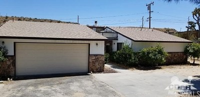 Yucca Valley Single Family Home For Sale: 7674 Rockaway Avenue