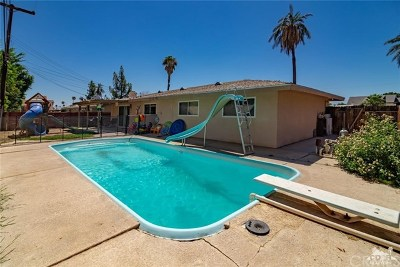 Indio Single Family Home For Sale: 81450 Riverlane Drive
