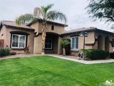 Indio Single Family Home For Sale: 40667 Bear Creek Street