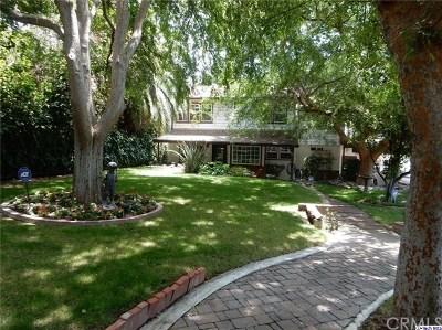 La Crescenta Single Family Home For Sale: 5120 La Crescenta Avenue