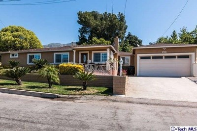 La Crescenta Single Family Home For Sale: 2765 Los Olivos Lane