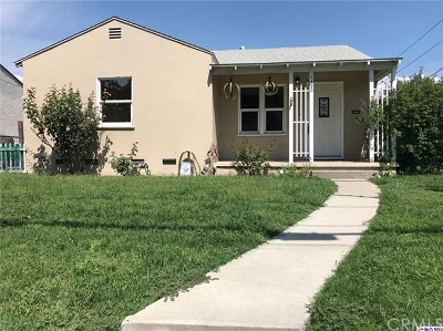 Burbank Single Family Home For Sale: 1120 S Lake Street